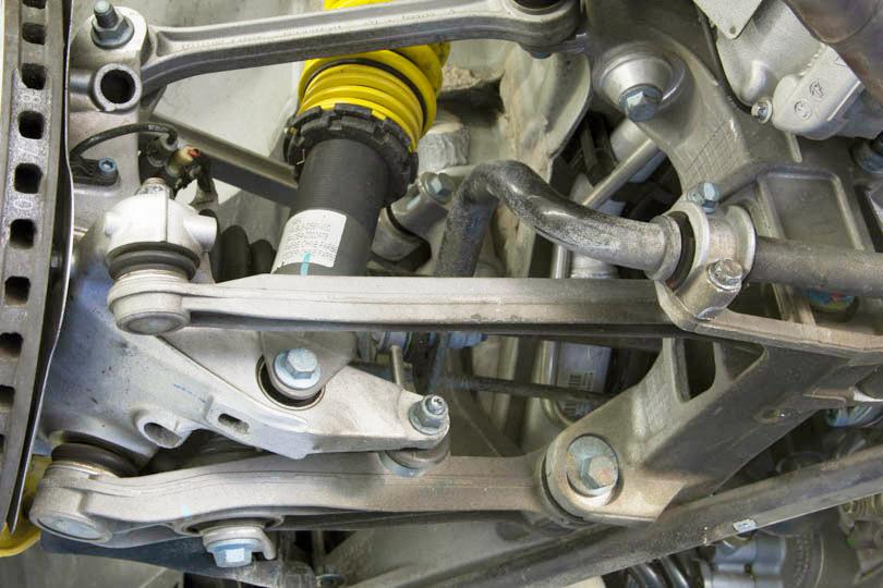 Elephant Racing • 2007 Porsche 997 1 GT3 Suspension Overview: